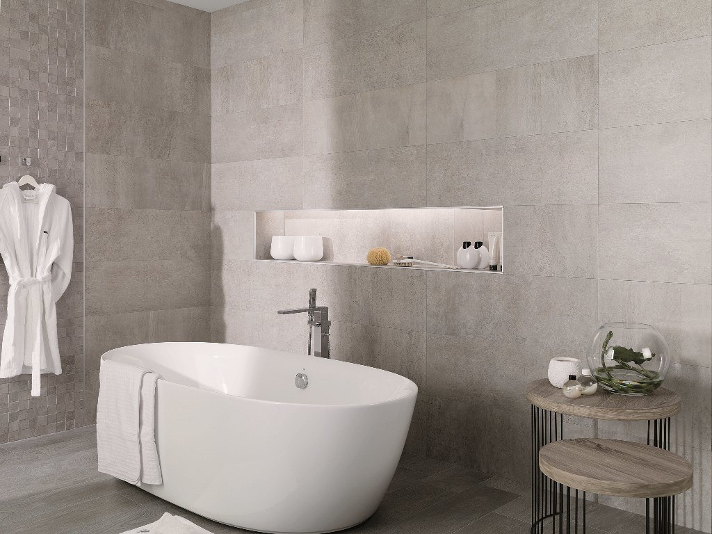 decorative wall tiles for bathroom. Ramsey\u0027s Rodano Acero Decorative Wall Tiles For Bathroom M